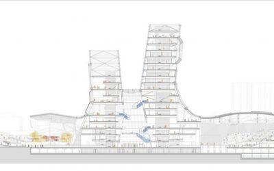 Avanza la construcción del nuevo complejo cultural en la bahía del Rio Love de Kahosiung en Taiwan