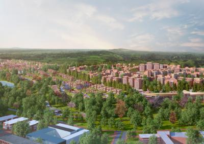 Masterplan y Desarrollo Residencial »Tatu Waters»